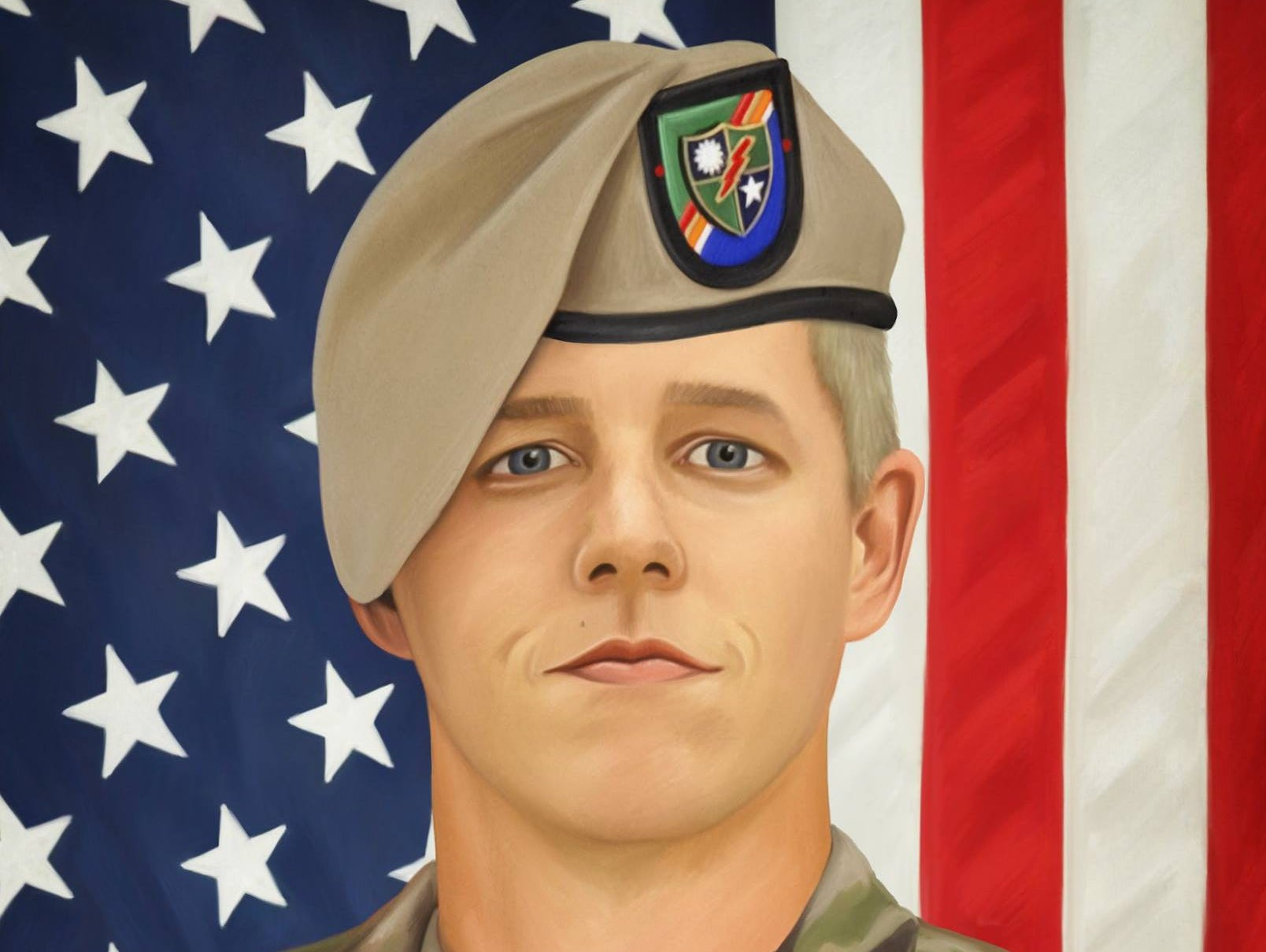 On July 12th, U.S. Army Ranger (1-75) Sergeant First Class Christopher Celiz was killed during a firefight with taliban forces in the Paktia Province of Afghanistan.Painting by Jonny Castro Art