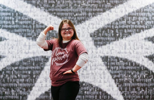 Rachel Mast is part of a new program at Missouri State University called Bear POWER, or Promoting Opportunities for Work, Education, and Resilience. It is a two-year, five-semester inclusive college program for intellectually or developmentally disabled adults.