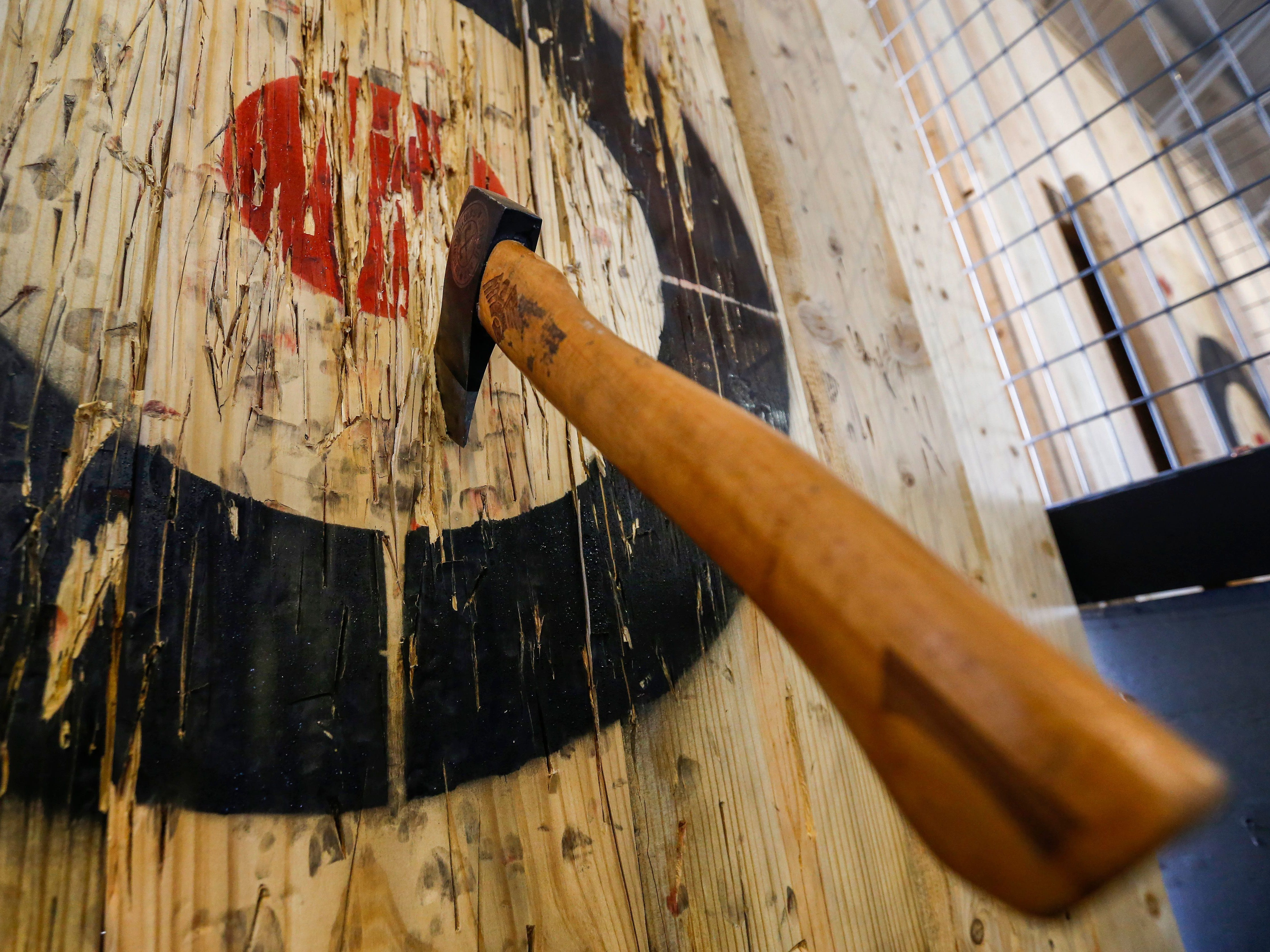 Go throw some axes. TommyHawks Axe House and Craft Axe Throwing are the two locations in Springfield.