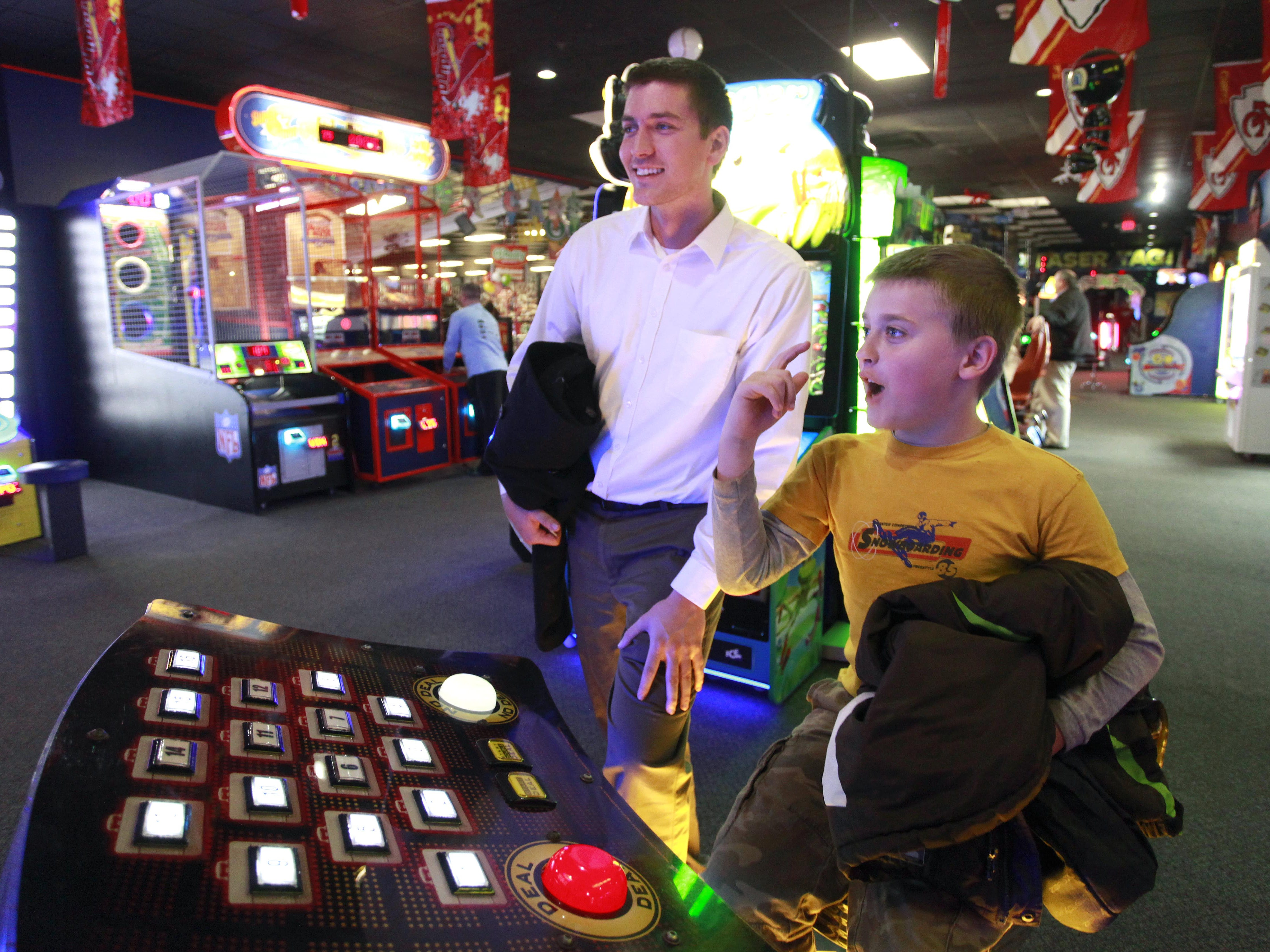Grab some pizza and play some games. Incredible Pizza, located at 2850 S. Campbell Ave., has go-karts too.