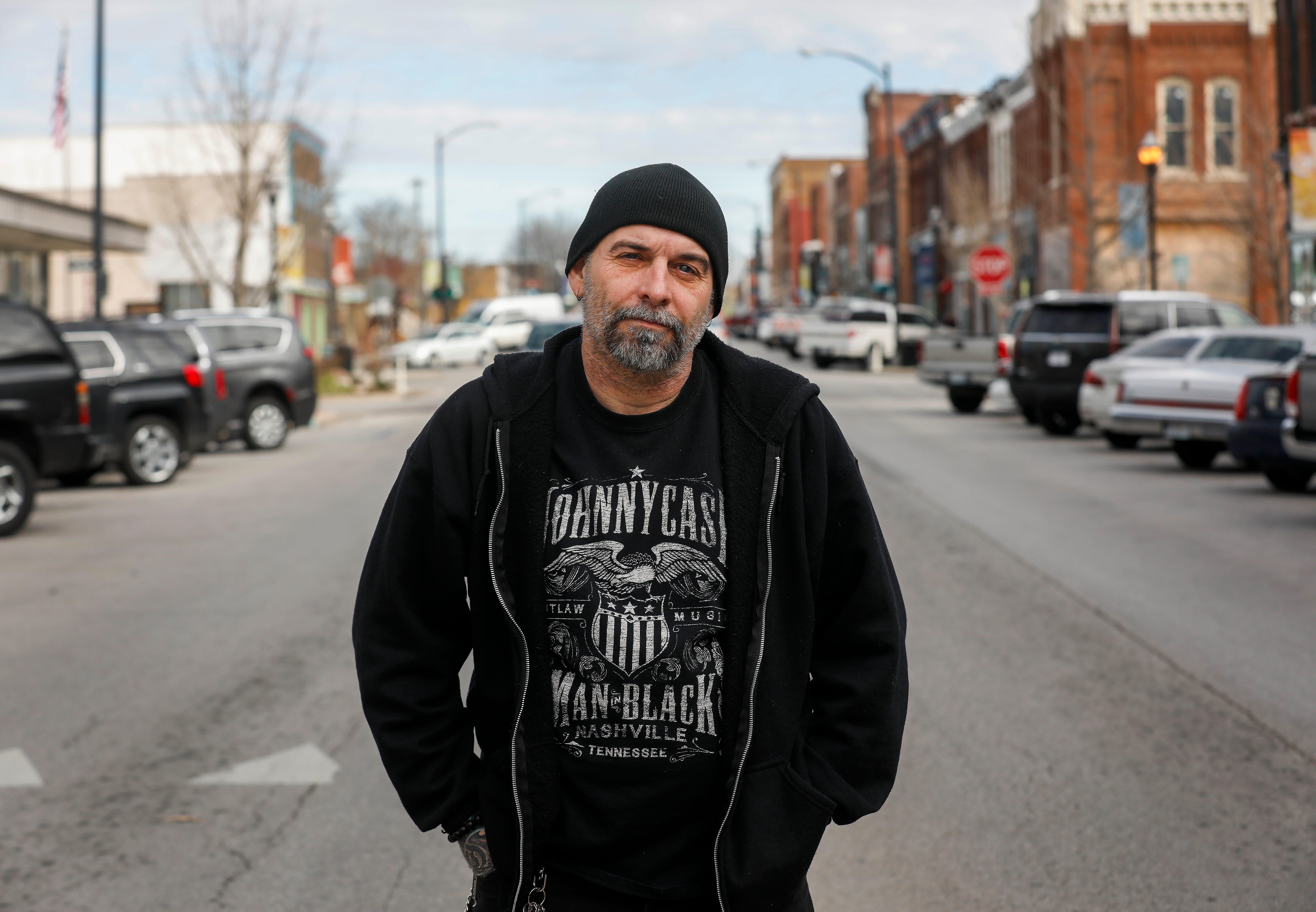 Joe Bridges organized the vigil for Hailey Owens on Commercial Street 5 years ago.