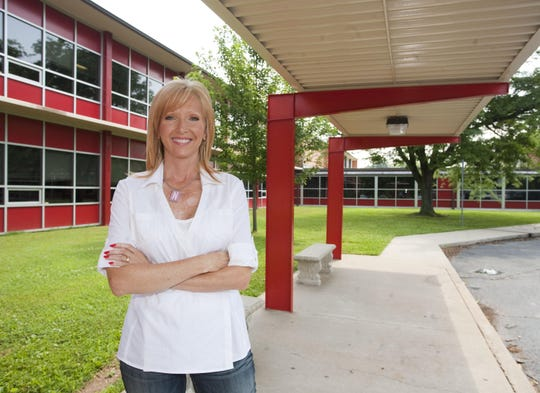 In 2009, Natalie Cauldwell was photographed as principal of Pershing Elementary and Middle School.
