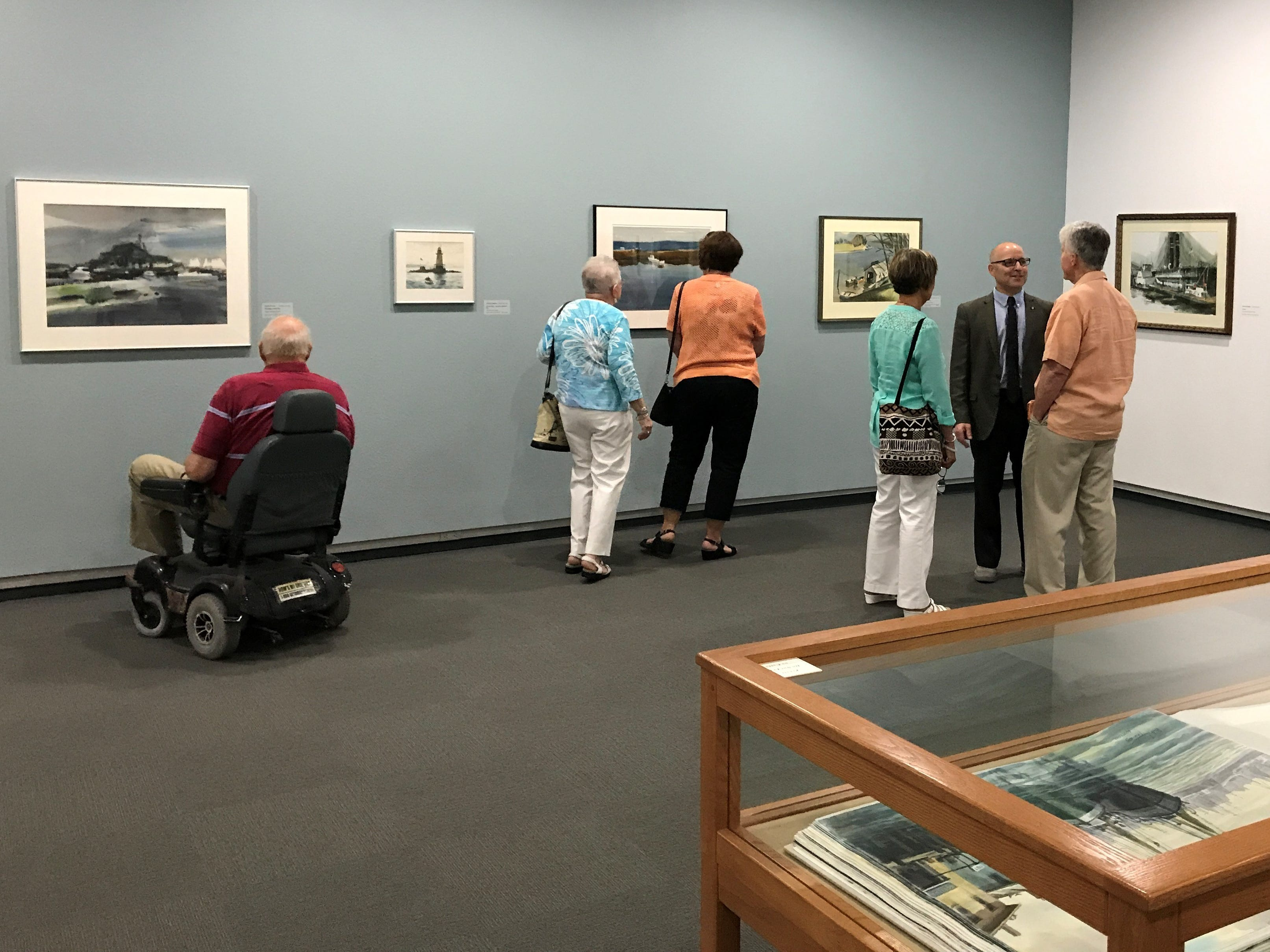 Go see some art. The Springfield Art Museum is located at 1111 E. Brookside Dr. For more information check out their website at https://www.sgfmuseum.org/