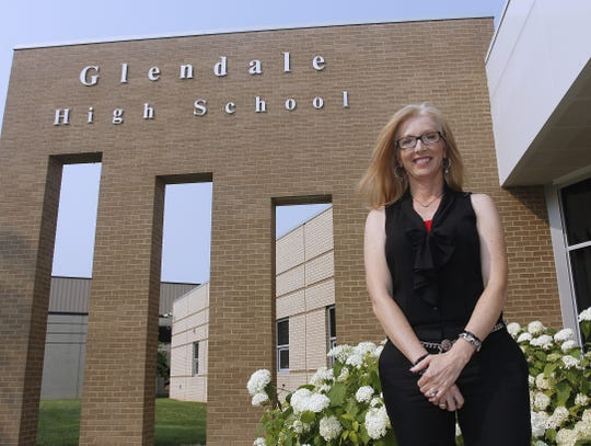 Six years ago, Natalie Cauldwell was named principal of Glendale High School. This photo was from 2013.