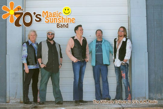 The 70's Magic Sunshine Band will performat 7:30 p.m. Jan. 18 at Pioneer Place on Fifth.