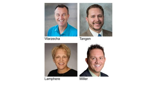 2019 Officers include President Randy Warzecha, Coldwell Banker Burnet; President Elect Jason Tangen, Shrewd Real Estate; Immediate Past President Donna Lamphere, Coldwell Banker Burnet; Secretary/Treasurer Jason Miller, Premier Real Estate Services.