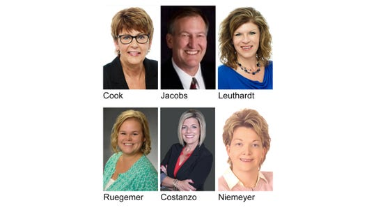 2019 Directors include Jan Cook, RE/MAX Results; Rob Jacobs, Coldwell Banker Burnet; Carla Leuthardt, RE/MAX Results, Becca Ruegemer, RE/MAX Results and Nancy Costanzo, Premier Real Estate Services. MNAR Director is Debbie Niemeyer, Coldwell Banker Burnet and MLS President is Chuck Zwilling, RE/MAX Results.