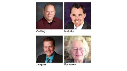 2019 officers include President Chuck Zwilling, RE/MAX Results; President Elect Matt Imdieke, Central MN Realty; Immediate Past President Chris Jacques, Premier Real Estate Services and Secretary/Treasurer Susanne Barkalow, Barkalow Appraisals.