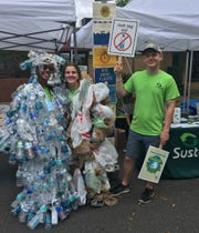 Sustainable Tallahassee campaigned for the reduction of single-use plastic.