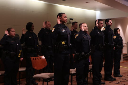 Eleven new officers joined the ranks of the Tallahassee Police Department Friday