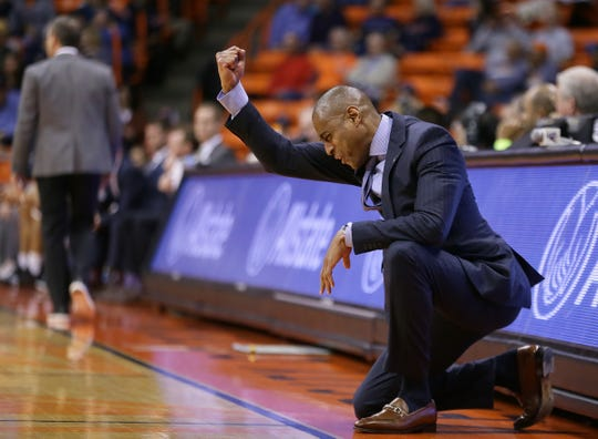"""Every game is an NCAA tournament game; that's what we do,"" UTEP coach Rodney Terry says. UTEP fell to North Texas 58-51 on Thursday, Jan. 10, 2019, at the Don Haskins Center."