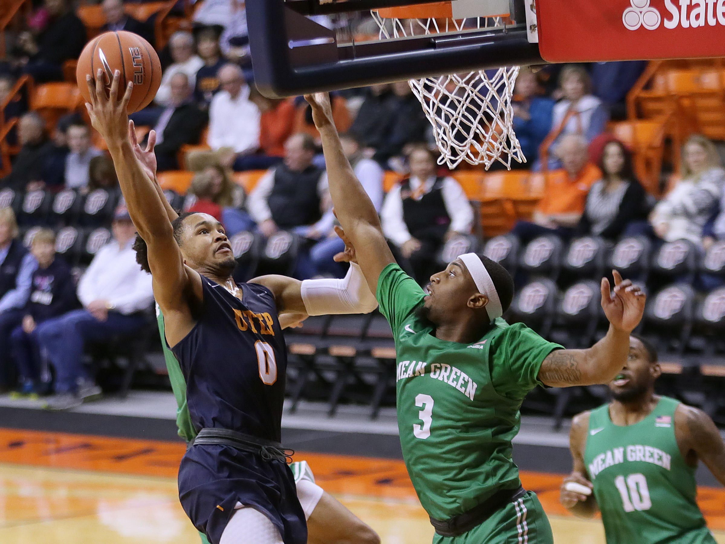 The Miners hounded the Mean Green into 19 turnovers and 41 percent shooting but fell to North Texas 58-51 on Thursday, Jan. 10, 2019, at the Don Haskins Center.