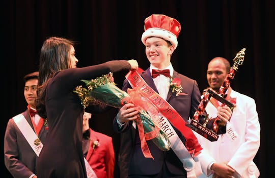 Bubba Beyer wins Mr. Vineland 2019 at Vineland High School on Thursday, January 11.