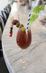 Boro6's famous Bloody Mary is available to go as part of an Easter brunch box special.
