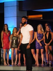 "Wilmington's James L.A. Thompson struts his stuff on ""Temptation Island,"" which debuts Tuesday at 10 p.m. on USA Network."