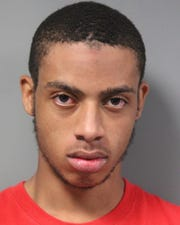 Jayaire Brittingham, 18, has been charged with possession of a destructive weapon.