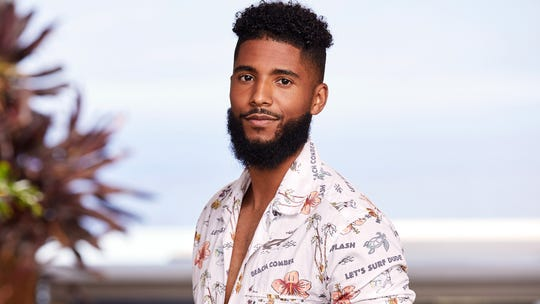 "James L.A. Thompson's headshot for USA Network's ""Temptation Island,"" which debuts Tuesday night at 10 p.m."