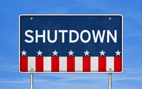 An estimated 500 employees in Delawareare either furloughed or being forced to work without pay during partial government shutdown.