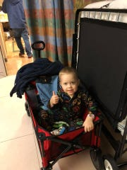 Malcolm McGregor learned on Dec. 24 he has neuroblastoma