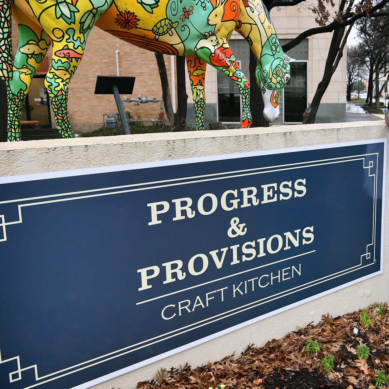 Young chef serving downtown Wichita Falls with at Progress & Provisions Craft Kitchen
