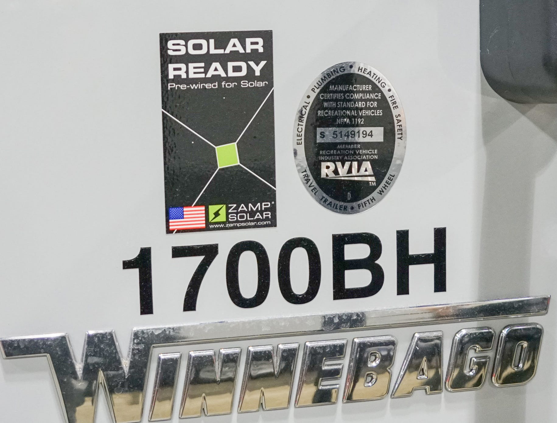 Many RVs now come pre-wired for solar panels.
