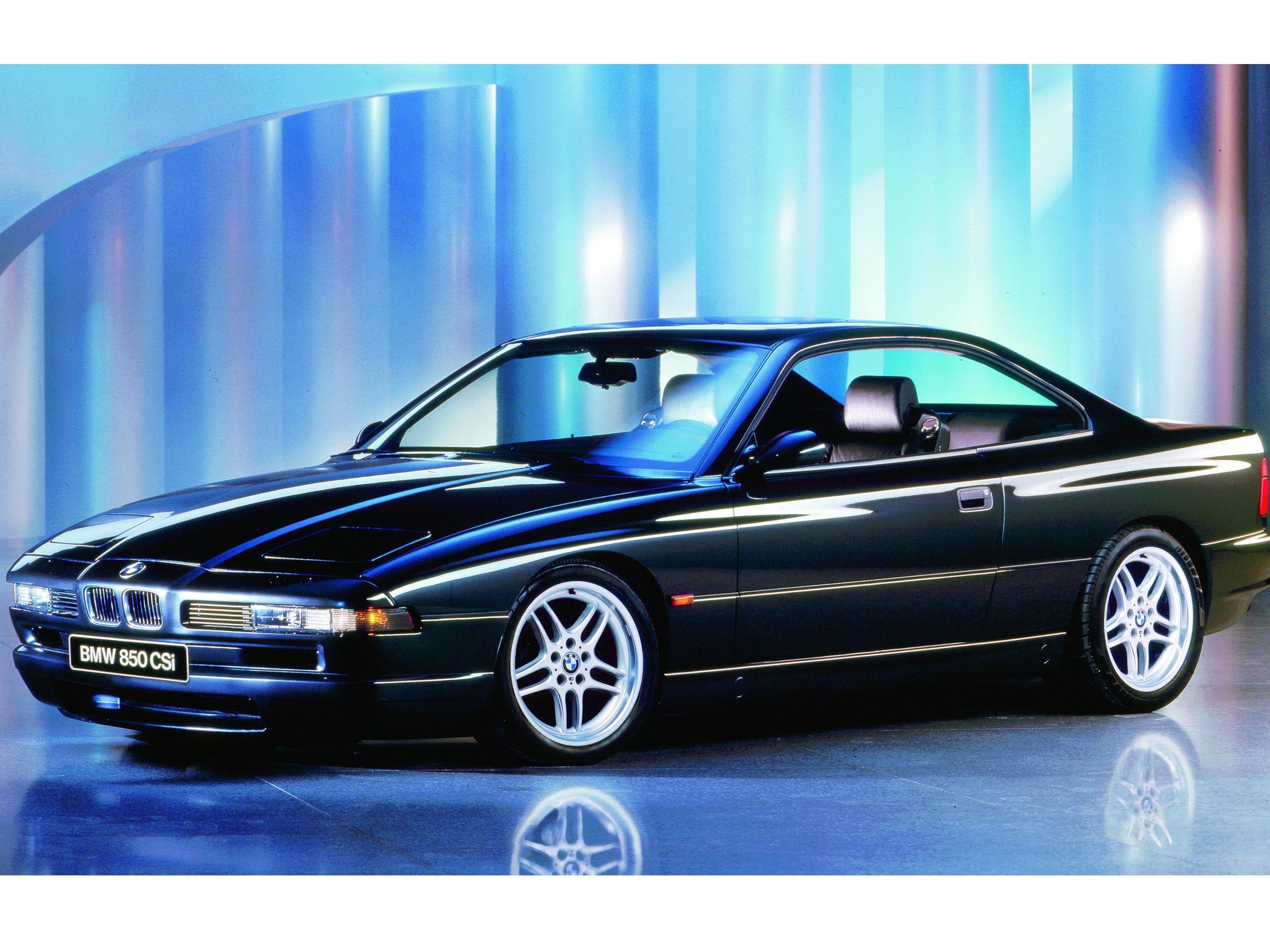The 1992-96 BMW 850 CSI.