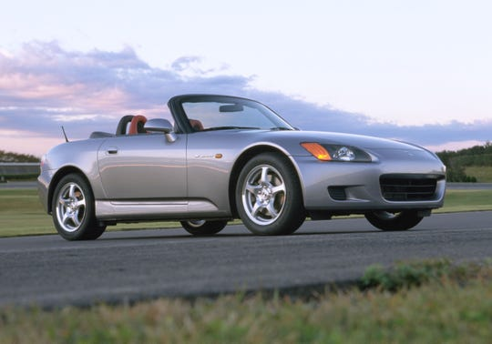 The Honda S2000 Roadster debuted at the Detroit auto show in 1999.