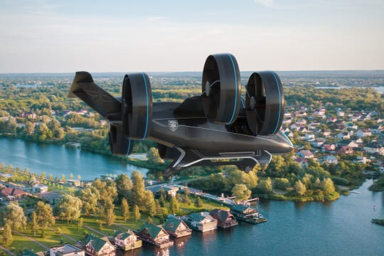 We took a look at Bell and Uber's flying taxi prototype