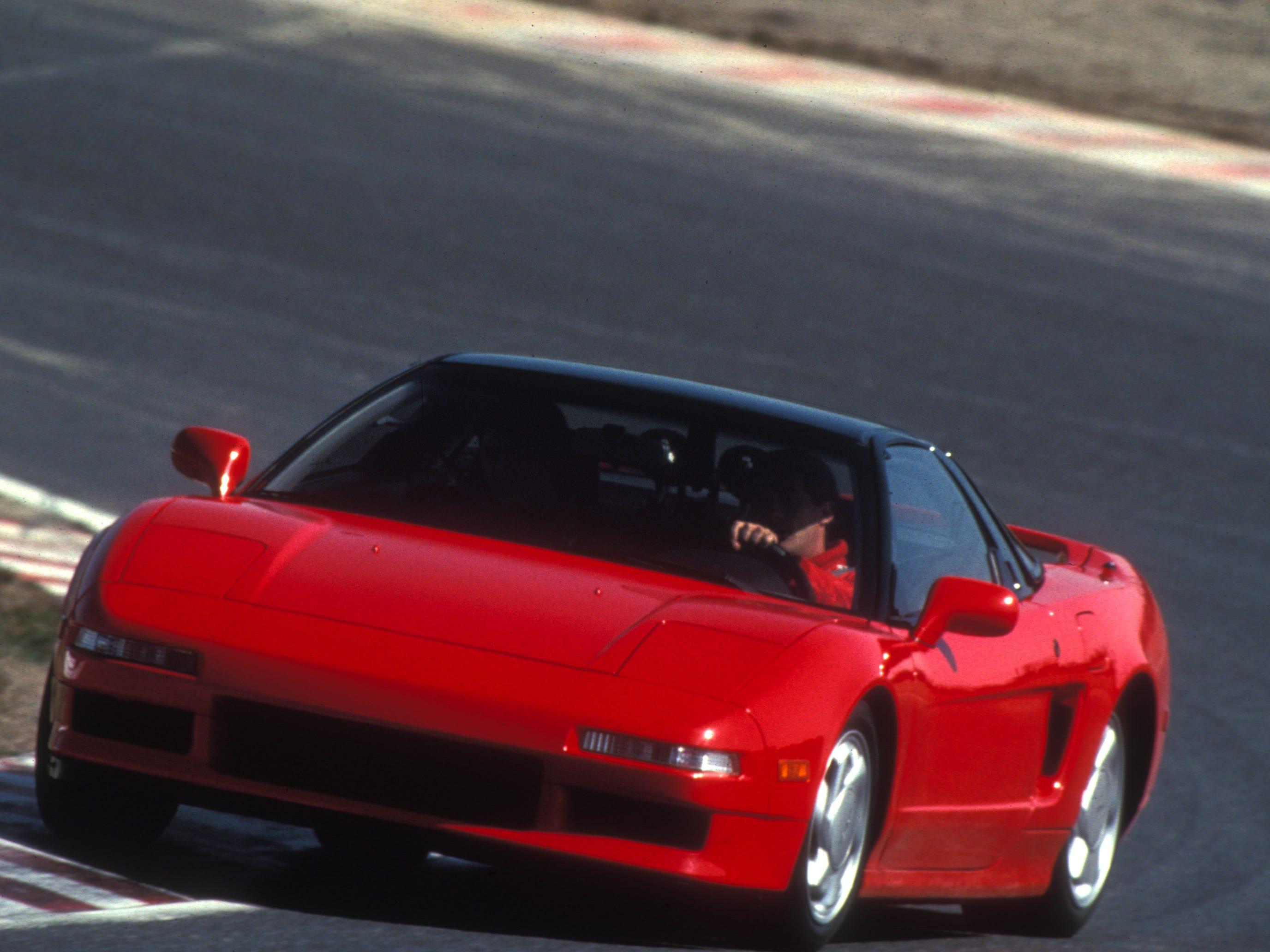 The 1990 Acura NSX.