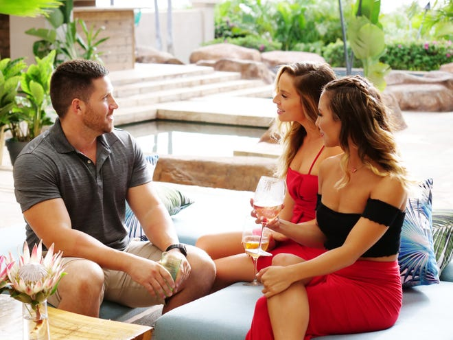 The unmarried (but still committed) John Thurmond, left, meets singles Brittany Rose and Allie DiMeco.