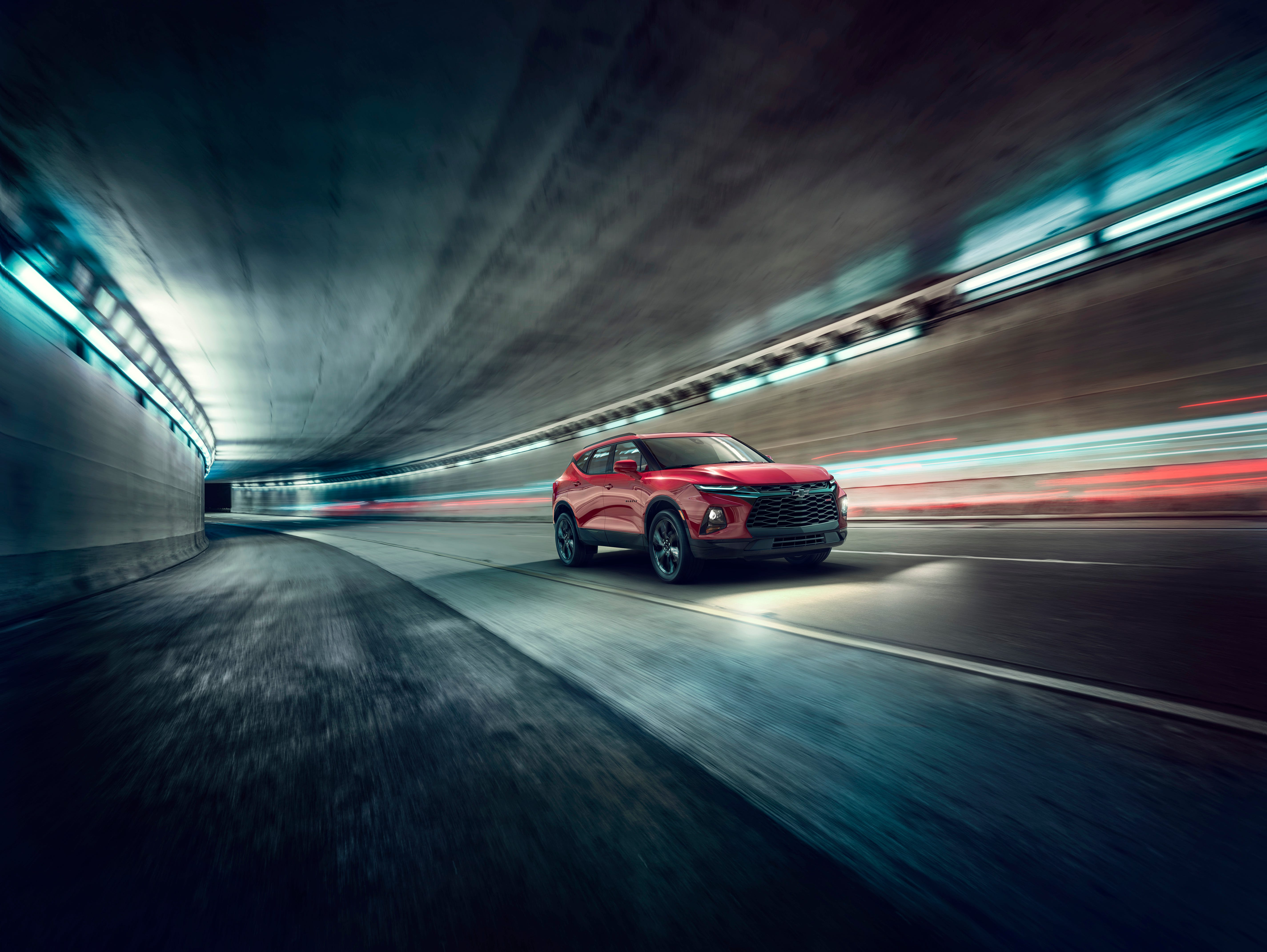 The 2019 Chevrolet Blazer RS. General Motors weeks ago began selling a new SUV called the Chevy Blazer, which takes an inspiration from the long-gone Chevy TrailBlazer.