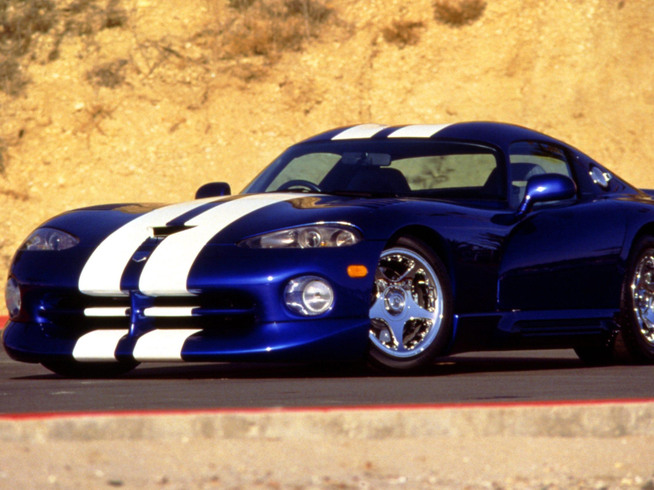 The 1997 Dodge Viper.
