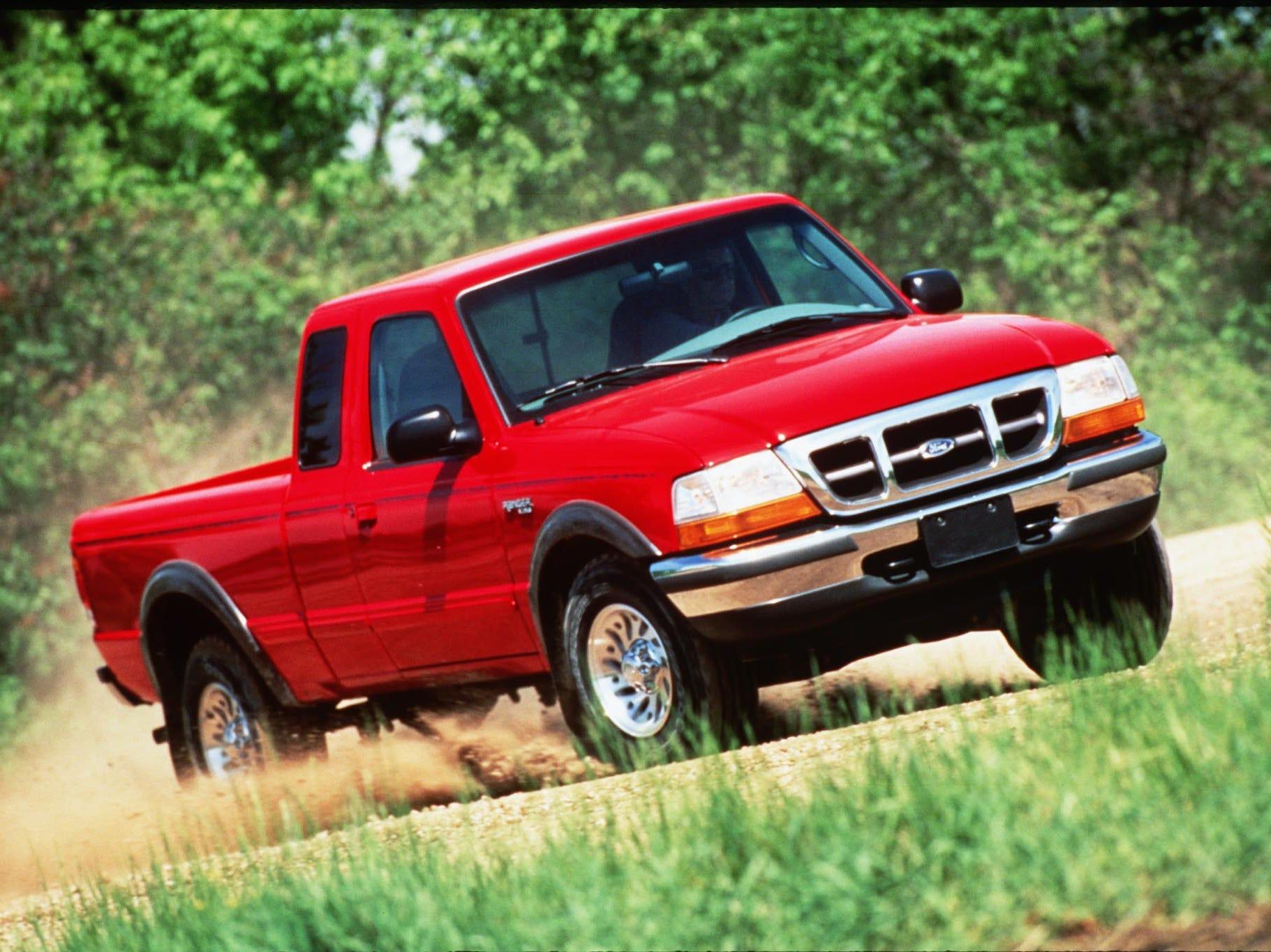 A 1998 Ford Ranger XLT 4X4.