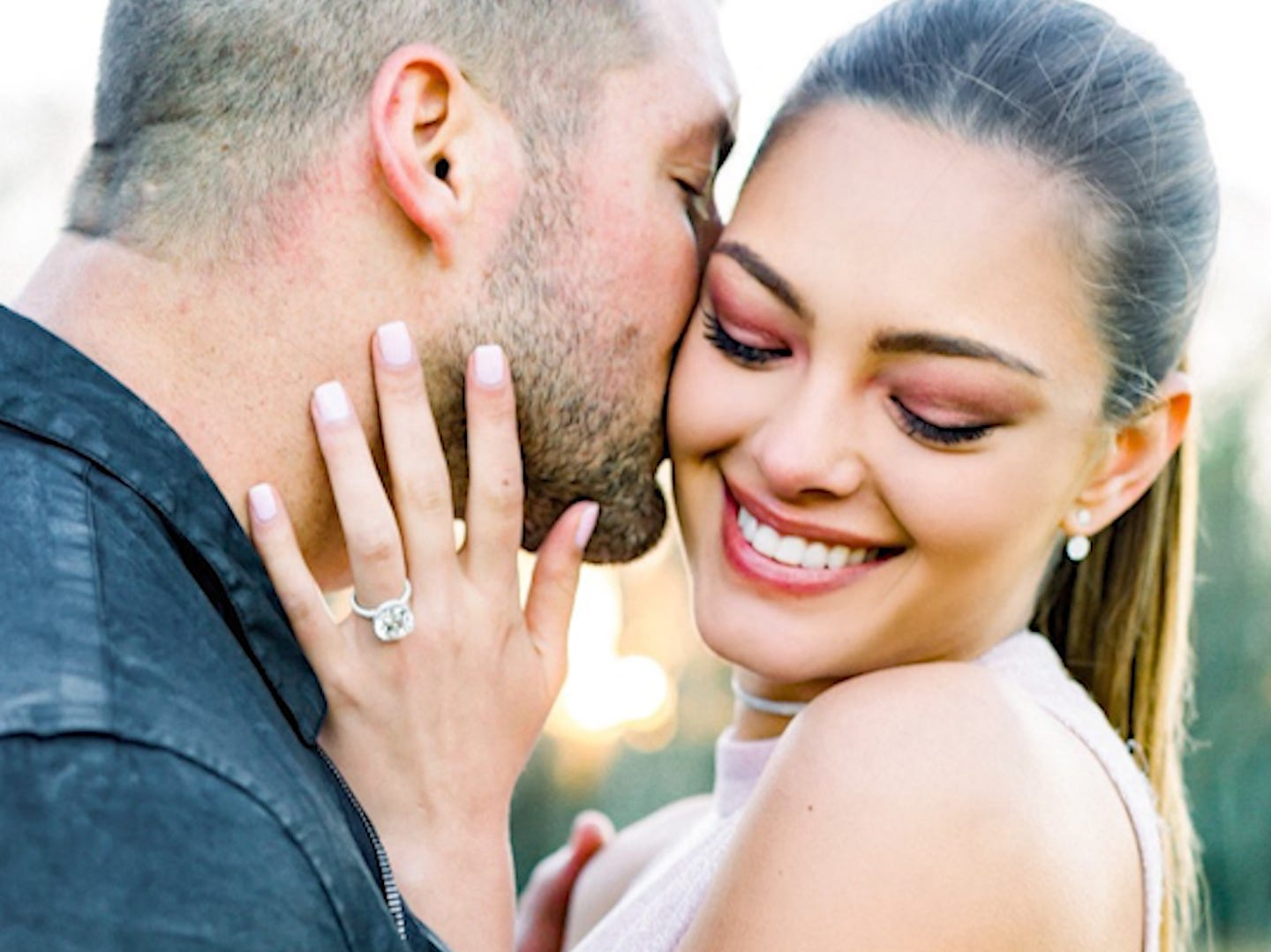 This is Demi-Leigh Nel-Peters, Tim Tebow's fiancee