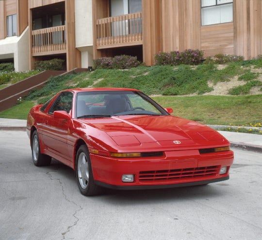 An 1992 Toyota Supra.