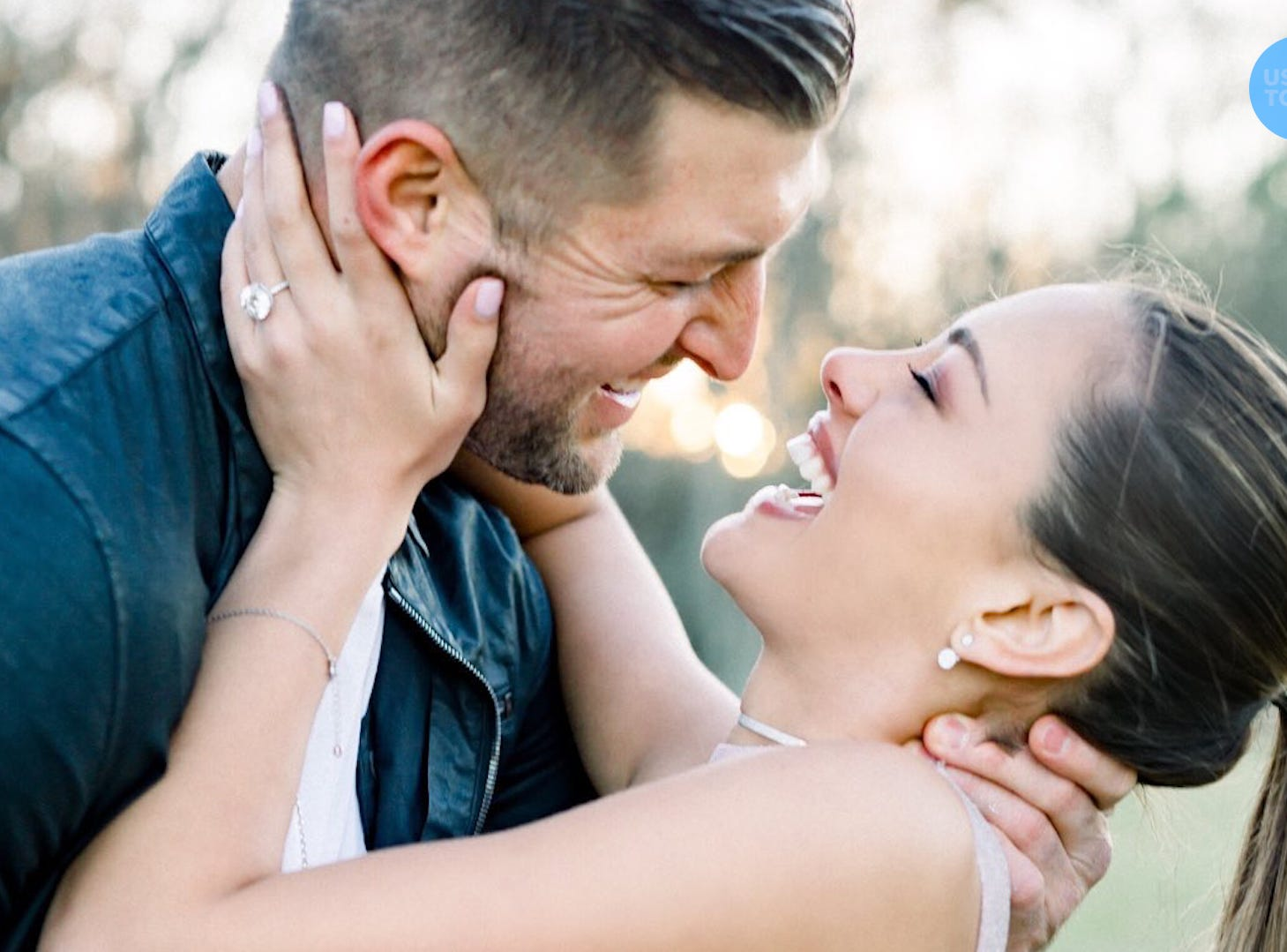 Tim Tebow put a ring on it. With a 7.25-carat diamond, one of sports' most eligible bachelors is officially off the market.