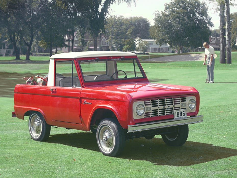 This is a 1966 Ford Bronco.