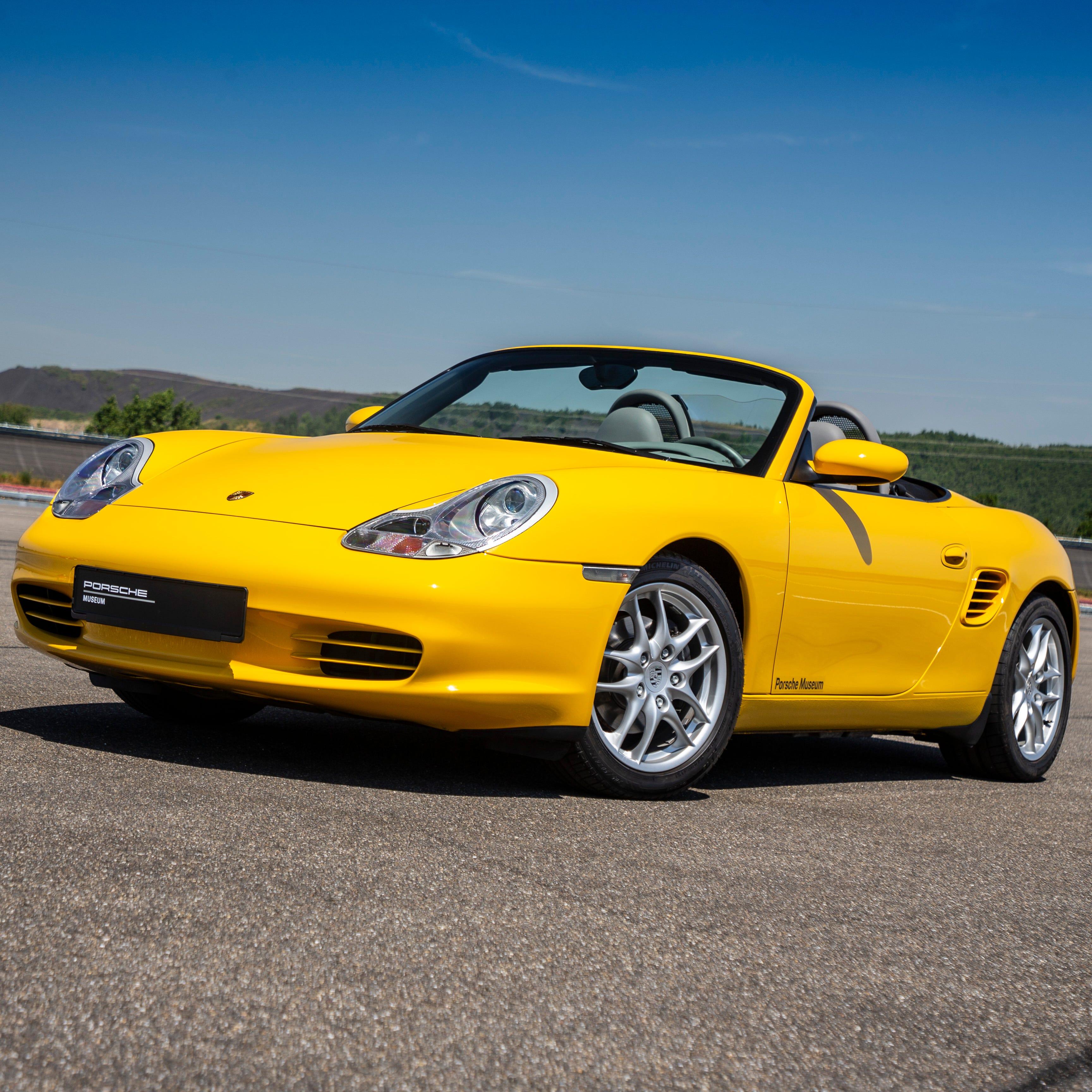 The Porsche Boxster.