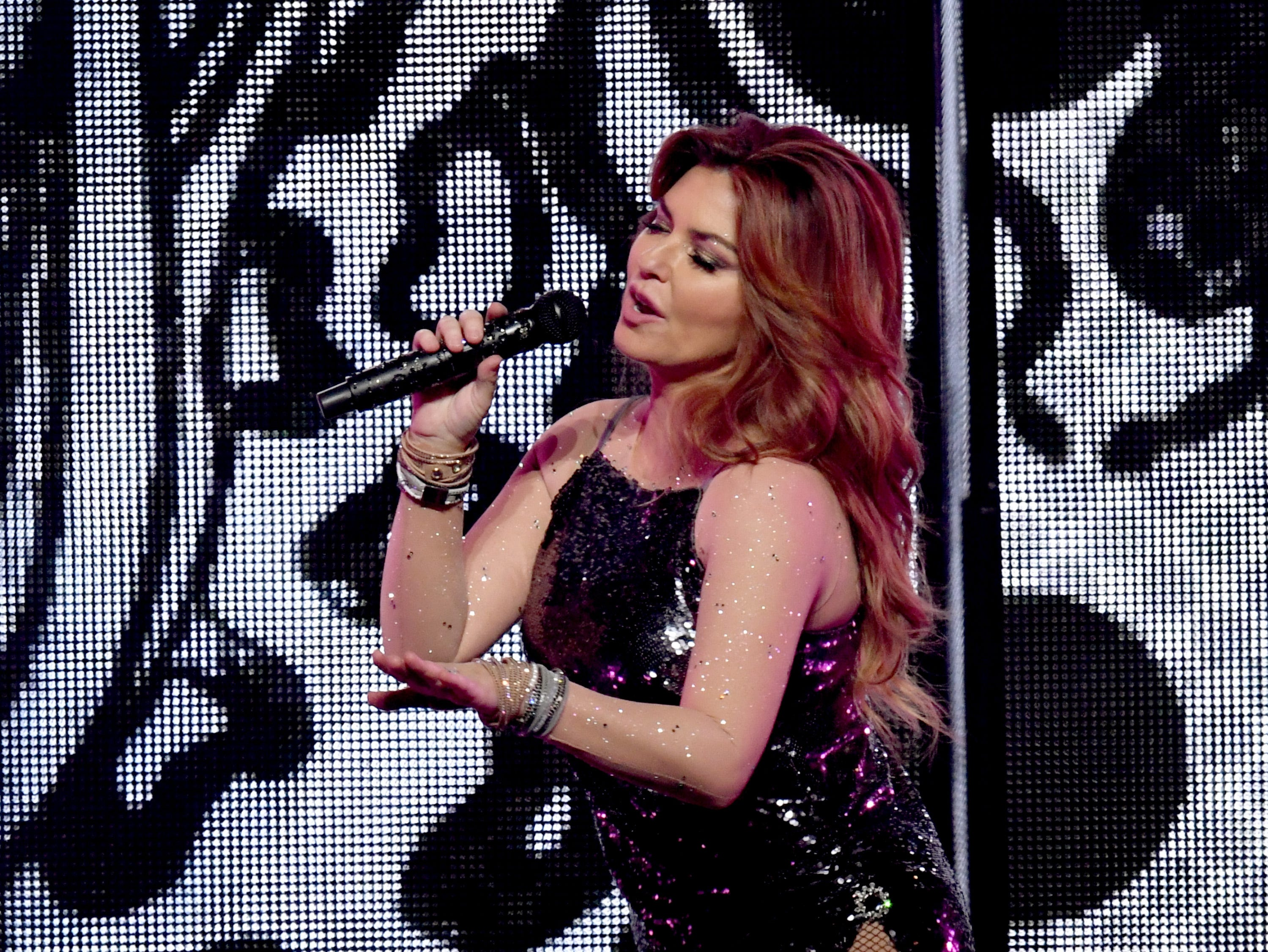 """In an April 2018 interview with The Guardian, Canadian Shania Twain said she would have voted for Trump. """"I would have voted for him because, even though he was offensive, he seemed honest,"""" she said. She later backpedaled from her remarks, apologizing for her """"awkward"""" answer and saying the question caught her off guard."""
