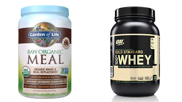 Stock up on your favorite protein powders.