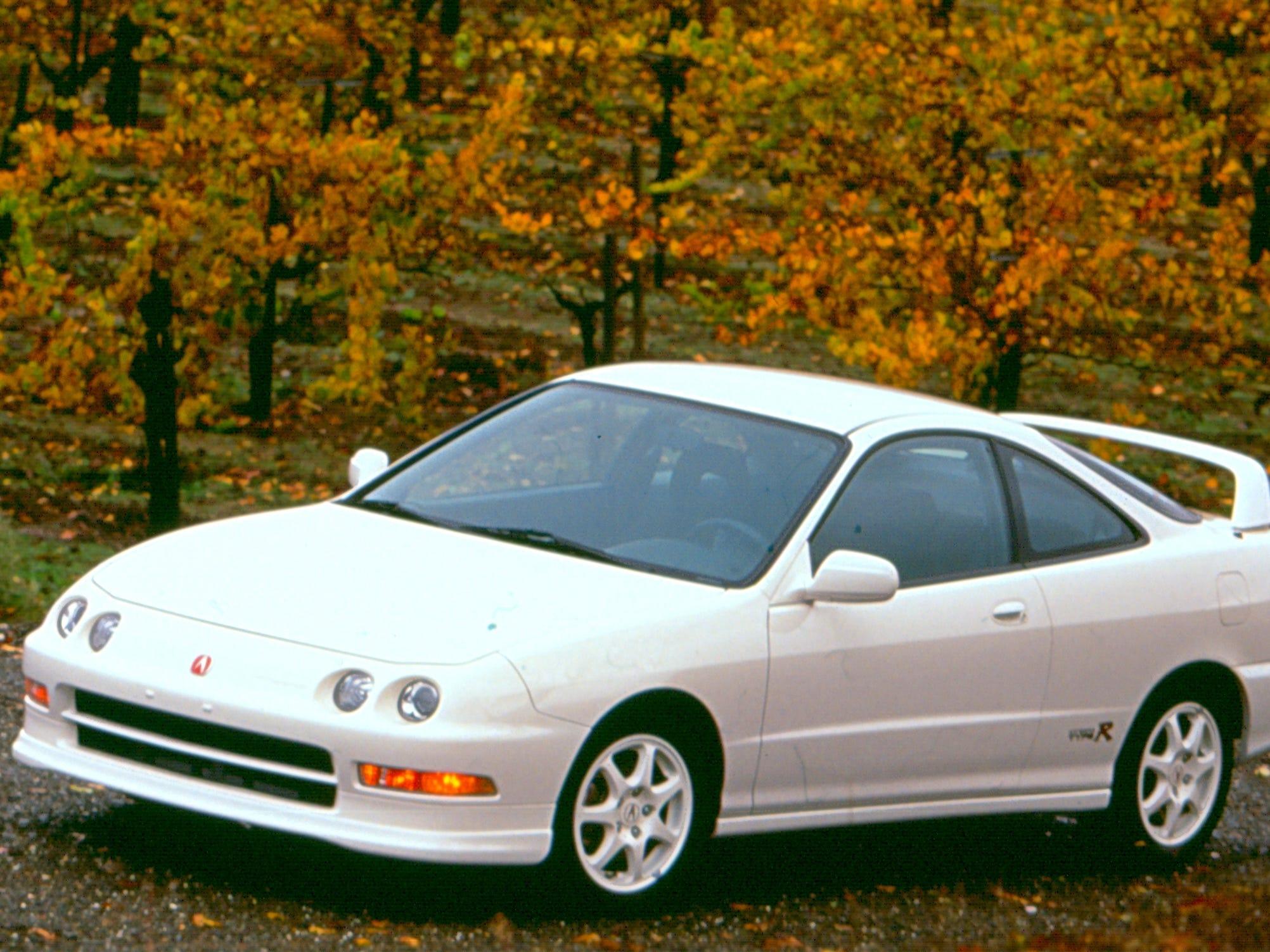The 1998 Acura Integra Type R.