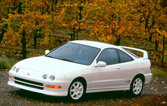 The Acura Integra Type R debuted at the Detroit auto show in 1997.