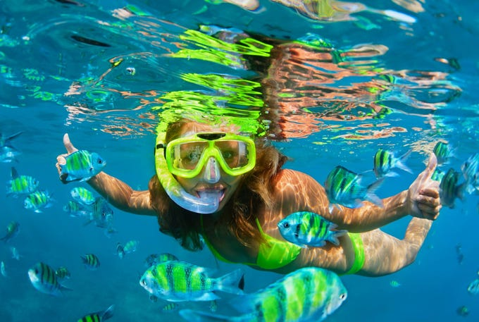 Easy to master and too much fun not to try, snorkeling is so mesmerizing that it may become the focus of your Caribbean vacation.