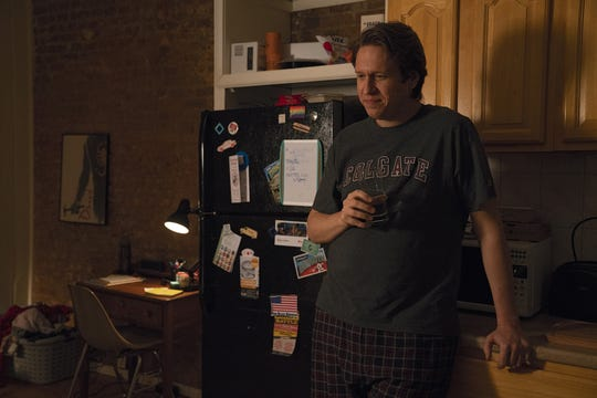 "After finding success on a college tour, up-and-coming comedian Pete (Pete Holmes) continues to hustle in New York's stand-up scene in HBO's ""Crashing."""