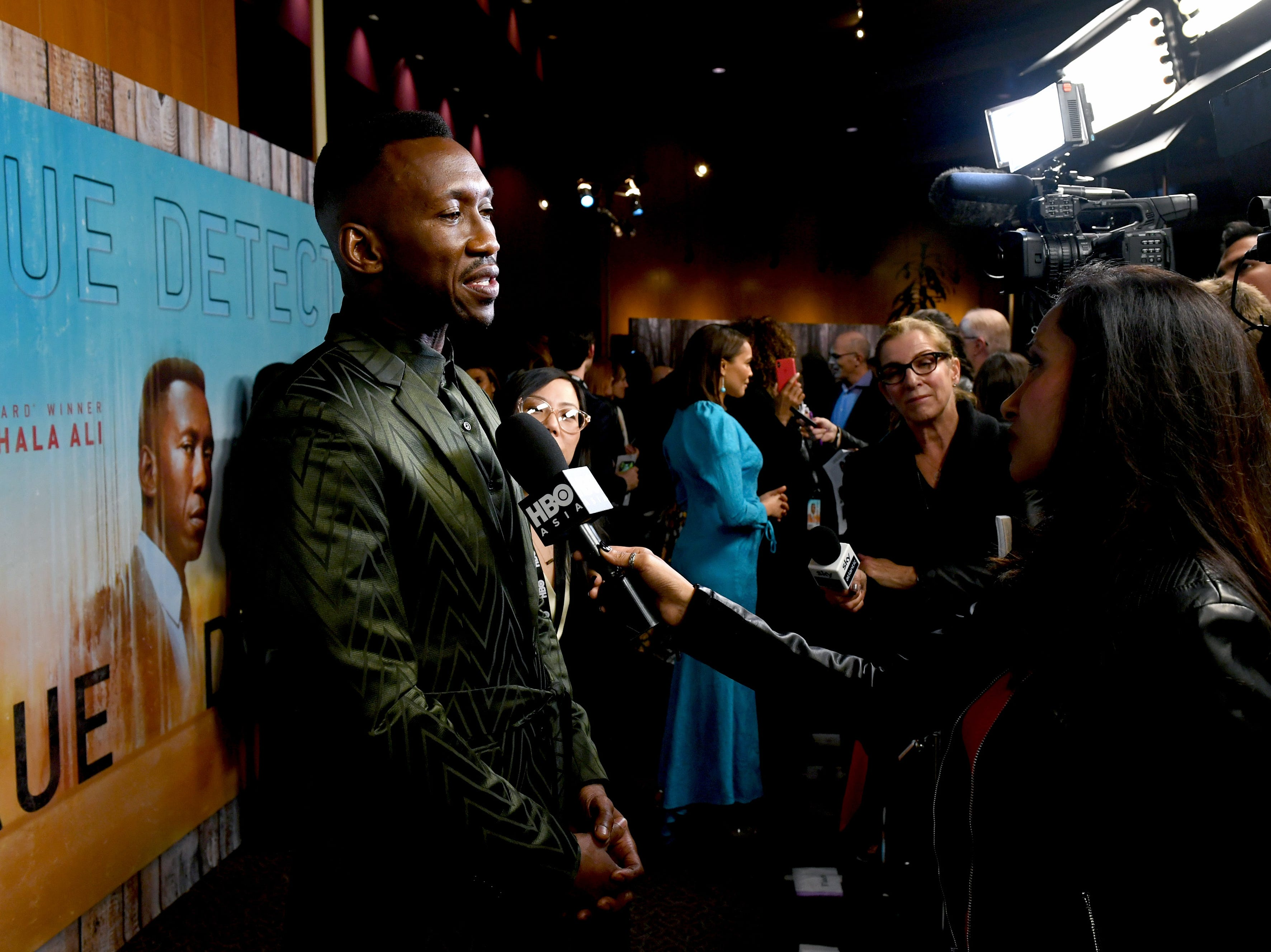LOS ANGELES, CA - JANUARY 10:  Mahershala Ali attends the premiere of HBO's 'True Detective' Season 3 at Directors Guild Of America on January 10, 2019 in Los Angeles, California.  (Photo by Kevin Winter/Getty Images) ORG XMIT: 775273151 ORIG FILE ID: 1080611830
