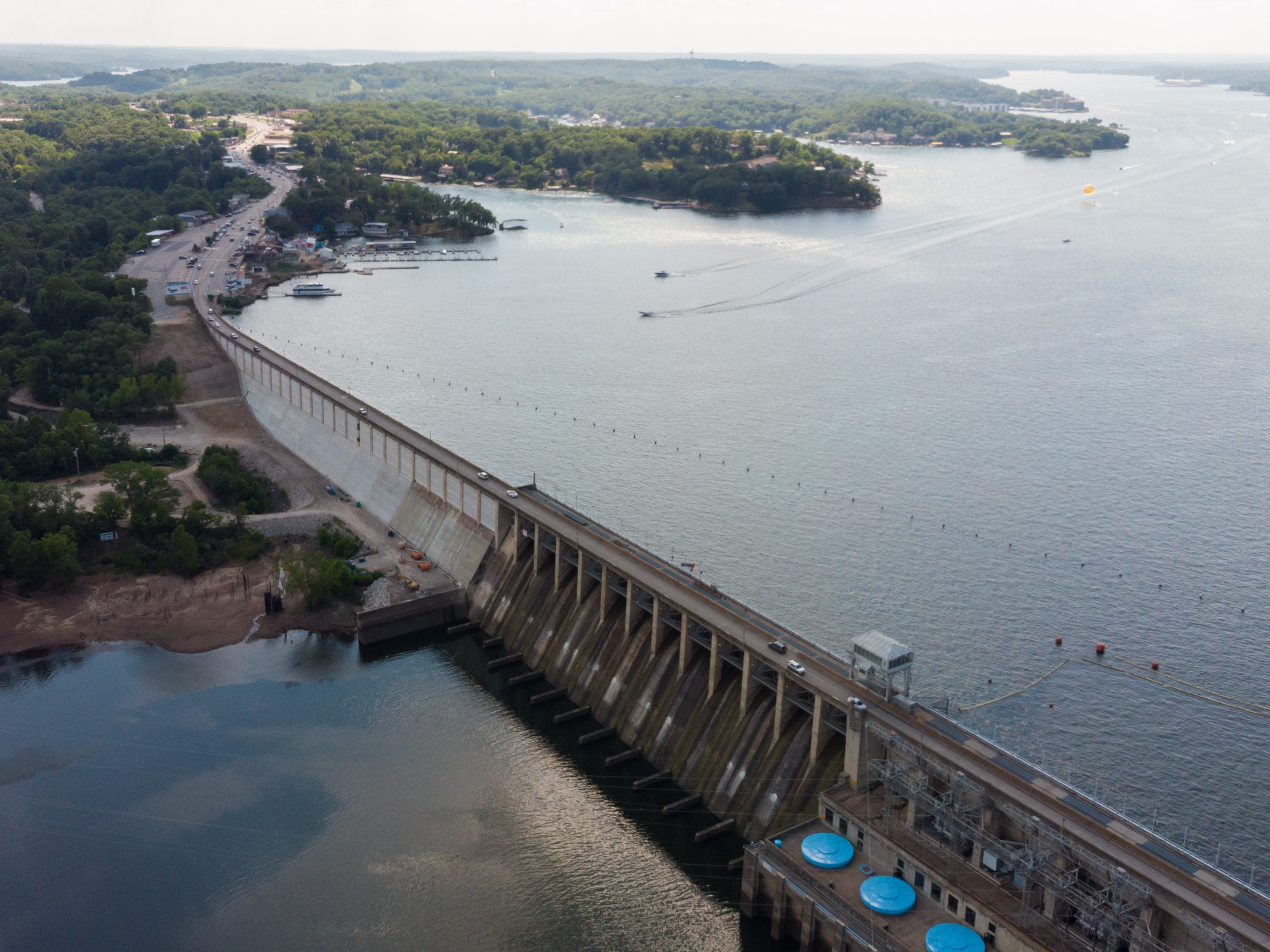 Bagnell Dam in Missouri.