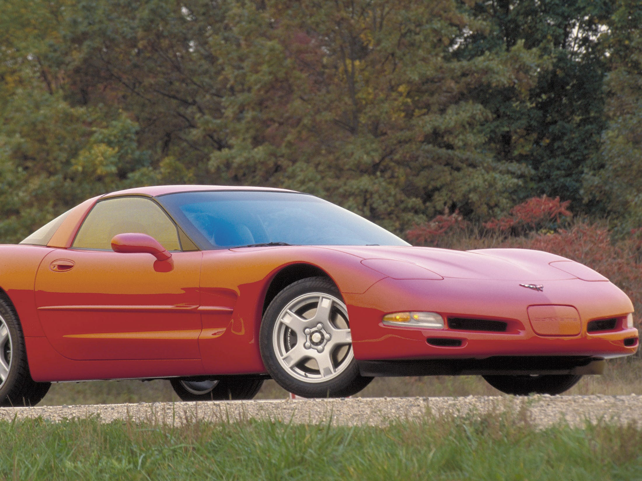 The 1997 Chevrolet Corvette Coupe.