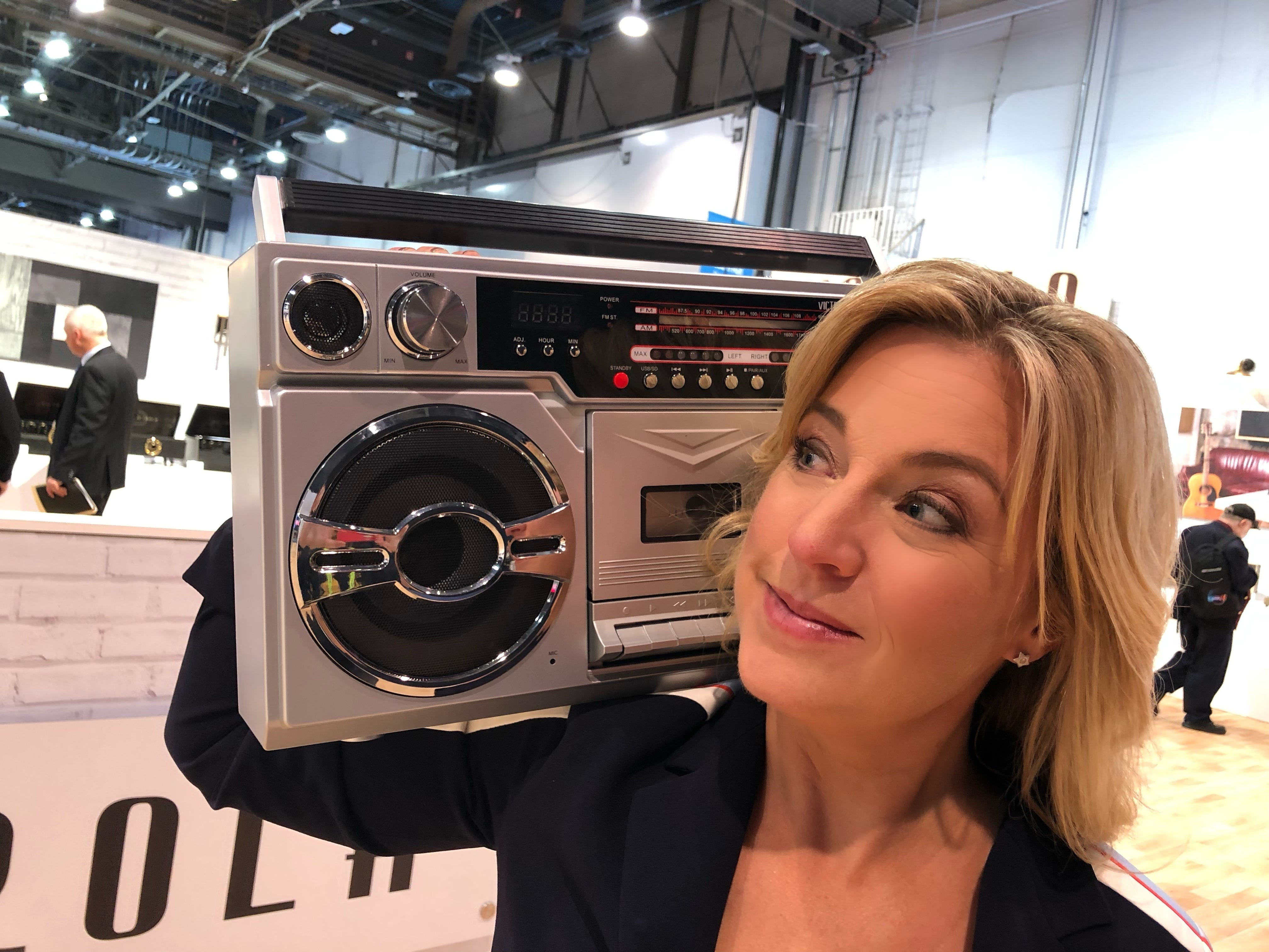 Boom boxes, mix tapes and instant cameras as hot new tech? Yes, it's actually 2019