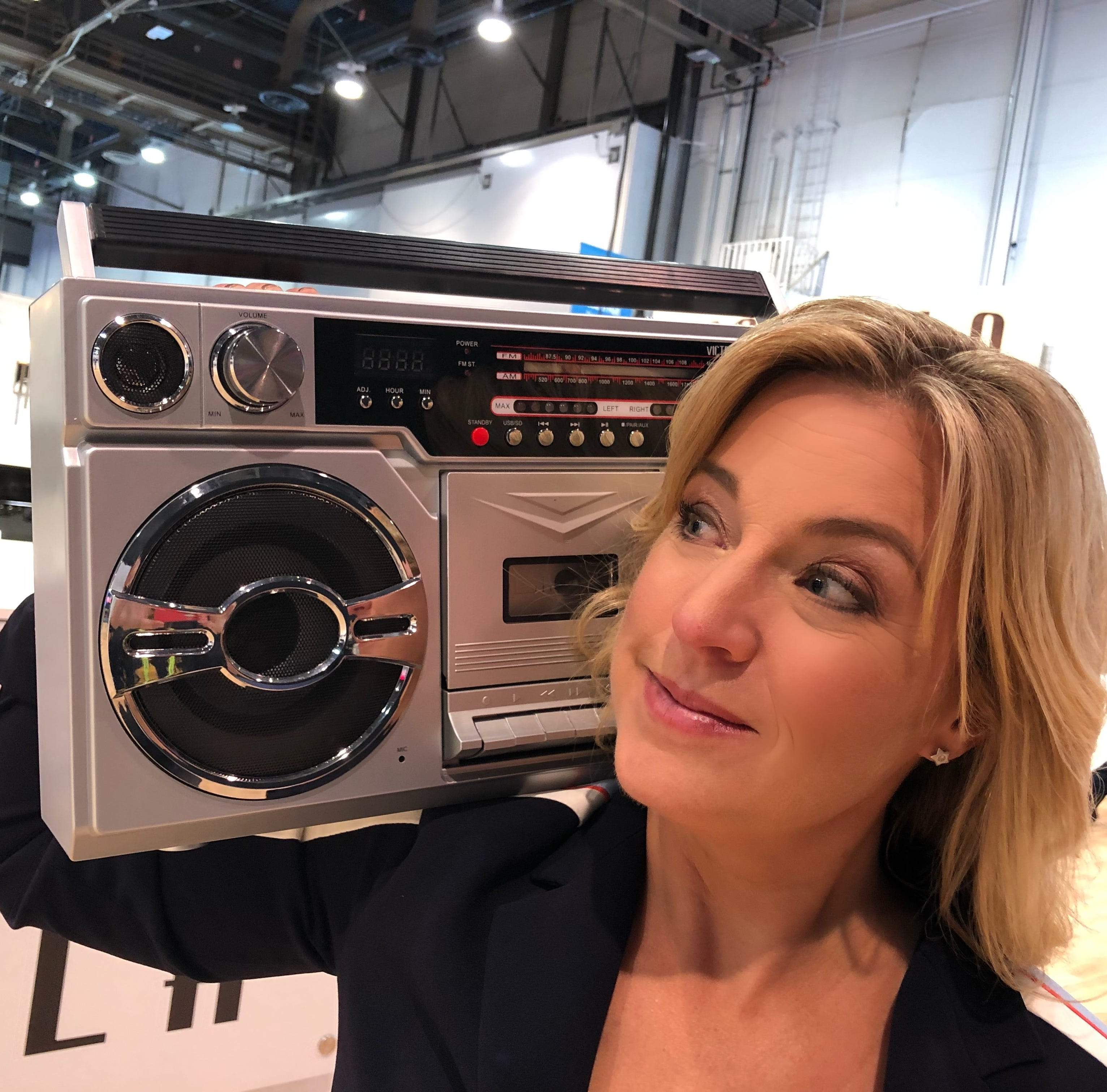Boom boxes, mixtapes and instant cameras as hot new tech? Yes, it's actually 2019