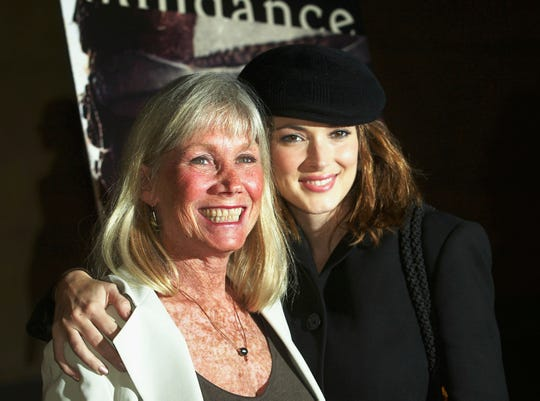 "In 2003, Verna Bloom and Winona Ryder arrive at a screening of the newly restored ""The Hired Hand,"" marking the 1971 directorial debut of Peter Fonda,"